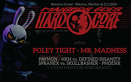 Party Flyer Maribore goes Hardcore 21 Mar '20, 22:00