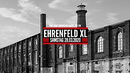 Party Flyer Ehrenfeld XL 28 Aug '20, 22:00