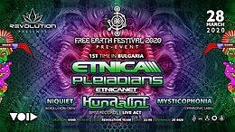 Party Flyer Revolution Presents Free Earth Bulgaria Pre-Event 28 Mar '20, 22:00