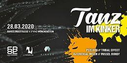 Party Flyer Tanz im Kinker 28 Mar '20, 23:00