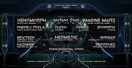 Party Flyer Digital Storm IV w./ Xenomorph & Imagine Mars 4 Apr '20, 22:00