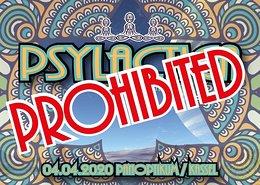 Party Flyer PSYLACTICA 4 Apr '20, 23:00