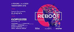 Party Flyer REBOOT EXTENDED 4 Apr '20, 21:00
