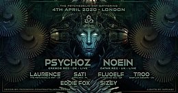 Party Flyer The Psychedelic Way Gathering 4 Apr '20, 23:00