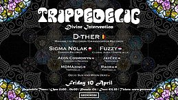 Party Flyer Trippedelic - Divine Intervention 4 Sep '20, 23:00