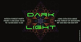 Party Flyer Dark Light #1 11 Apr '20, 18:00