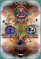 Party Flyer Magic Sector Rawar Live 3h set (1ª vez Zona Lisboa) 11. Apr. 20, 23:00
