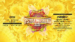 Party Flyer Psygathering 2020: Neelix , Ranji , Phaxe,the muses rapt , Stryker, Filteria etc 11 Apr '20, 22:00