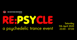 Party Flyer [POSTPONED] RE:PsyCle 11 Apr '20, 23:00