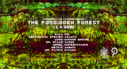 Party Flyer The Forbidden Forest 11. Apr. 20, 22:00