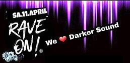 Party Flyer WE ❤ DARKER SOUND 2020 @Insomnia Lounge Sundern 11. Apr. 20, 22:00