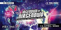 Party Flyer Irgendwo im Nirgendwo 2020 | Indoor Festival (18+) 12. Apr. 20, 22:00