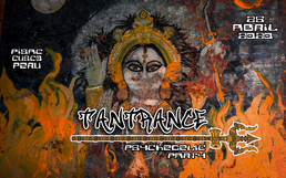 Party Flyer TANTRANCE psychedelic party 25 Apr '20, 19:00