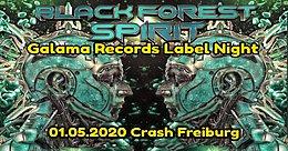 Party Flyer Black Forest Spirit / Galama Rec. Label Party (Wird leider verschoben!!) 1 May '20, 22:00