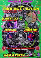Party Flyer ENCELA2CREW PRESENTS: PERFECT FICTION 2 May '20, 17:30