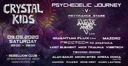 Party Flyer Crystal Kids: Psychedelic Journey V 9 May '20, 22:00