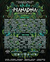 Party Flyer MANADNA FESTIVAL 2020 21 May '20, 14:00