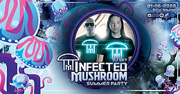Party Flyer Infected Mushroom - Ecu Rimini 1 Jun '20, 22:00