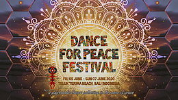 Party Flyer Dance For Peace Festival 5 Jun '20, 12:00