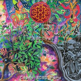 Party Flyer Chakruna Festival - Art - Culture - Music - Nature 11. Jun. 21, 15:00
