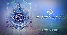 Party Flyer Universal Mind Festival 12. Jun. 20, 12:00