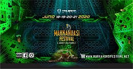 Party Flyer Markahuasi Festival 2020••• 18. Jun. 20, 18:00