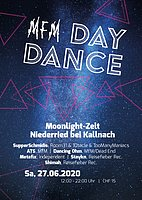 Party Flyer MfM Day Dance Niederried 27 Jun '20, 12:00