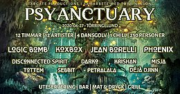 Party Flyer PSYANCTUARY 27 Jun '20, 13:30
