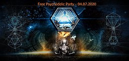 Party Flyer Free Psychedelic Party 4 Jul '20, 19:00
