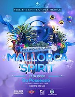 Party Flyer Psy Wonderland 17 Jul '20, 17:00