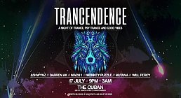 Party Flyer TRANCENDENCE (CH) 17 Jul '20, 21:00