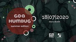 Party Flyer Goa Humbug - Summer Edition 18 Jul '20, 16:00