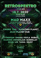 Party Flyer RetroSpektro Open Air w./ MAD MAXX 18 Jul '20, 19:30