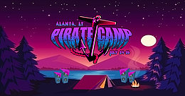 Party Flyer Pirate Camp 24 Jul '20, 12:00