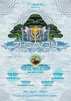 Party Flyer 7th Heaven - 1st year 25 Jul '20, 21:30