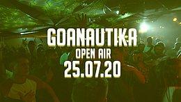 Party Flyer Goanautika First Open Air /w. Klopfgeister 25 Jul '20, 14:00