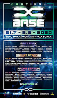 Party Flyer X-Base Festival 2020 31 Jul '20, 16:00