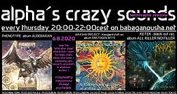 Party Flyer alpha.s crazy sounds - PHENOTYPE, AKASHA PROJECT, KETEK 6 Aug '20, 20:00
