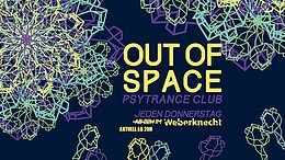 Party Flyer OUT of SPACE 6 Aug '20, 20:00