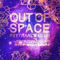 Party Flyer Out of Space 13 Aug '20, 20:00