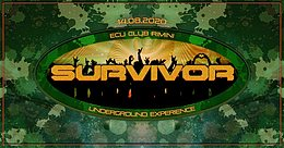 Party Flyer SURVIVOR - FERRAGOSTO UNDERGROUND 14 Aug '20, 20:00