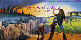 Party Flyer FreiRaumFestival 28 Aug '20, 22:00