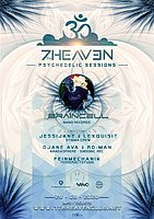 Party Flyer 7th Heaven Psychedelic Session: Braincell 29 Aug '20, 22:00