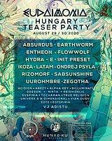 Party Flyer Eudaimonia Festival (Teaser Party) 29 Aug '20, 18:00