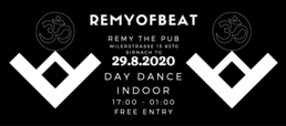 Party Flyer Remyofbeat Day Dance (INDOOR) 29 Aug '20, 17:00