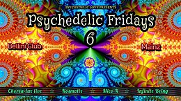 Party Flyer Psychedelic fridays #6 4 Sep '20, 23:00