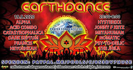 Party Flyer EARTHDANCE hamburg 2020 - radio- + videostream 19 Sep '20, 20:00