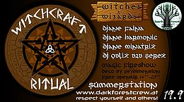 Party Flyer Witchcraft Ritual 19 Sep '20, 14:00