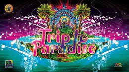 Party Flyer Trip To Paradise 21 Aug '20, 22:00