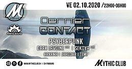 Party Flyer Dernier Contact w/ Neurolabz 2 Oct '20, 22:00